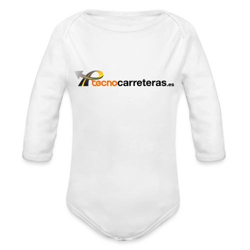 Tecnocarreteras - Body orgánico de manga larga para bebé