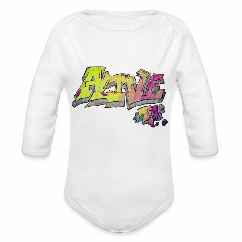 ALIVE TM Collab - Organic Longsleeve Baby Bodysuit