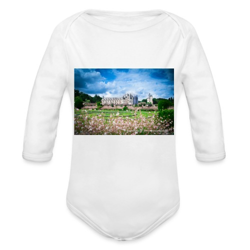 Barbara Mapelli - Castello di Chenonceau, Francia - Body ecologico per neonato a manica lunga