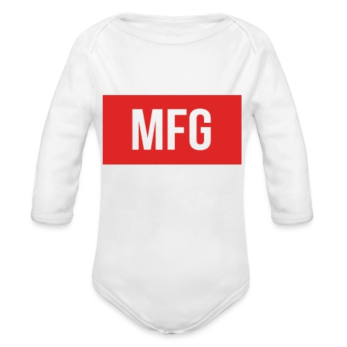 MFG on Youtube Logo - Organic Longsleeve Baby Bodysuit
