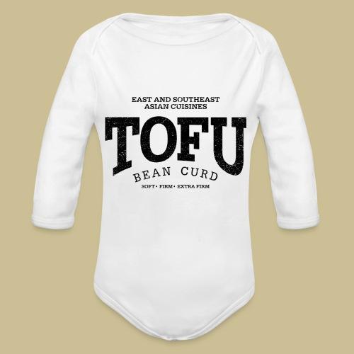 Tofu (black oldstyle) - Baby Bio-Langarm-Body