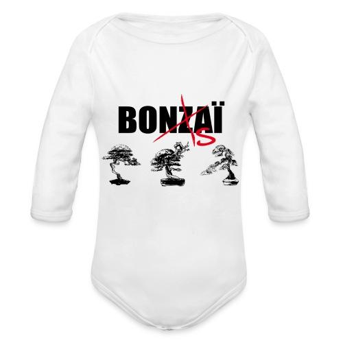 Bonsaï sans Z - Body Bébé bio manches longues