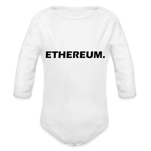 Ethereum - Baby Bio-Langarm-Body