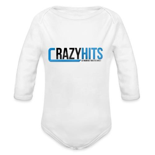 CrazyHIT - Body Bébé bio manches longues