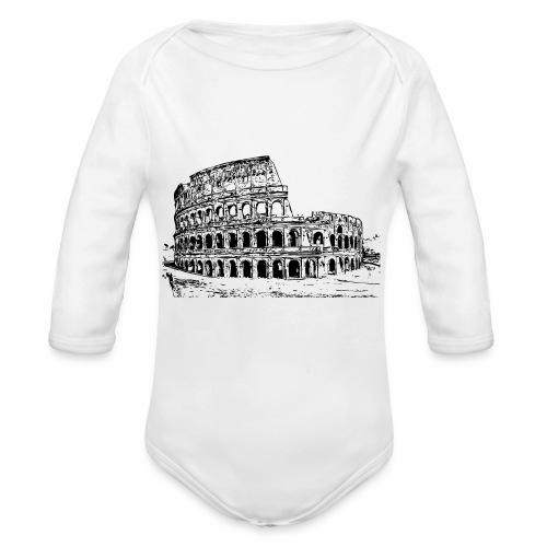 Kolosseum - Baby Bio-Langarm-Body
