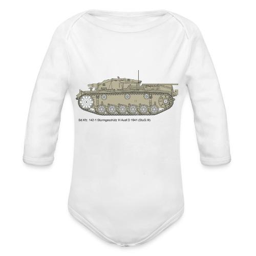 Stug III Ausf D. - Baby Bio-Langarm-Body