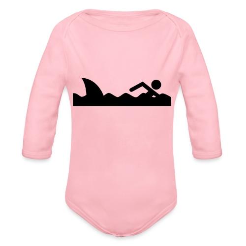 Haifischfutter - Baby Bio-Langarm-Body