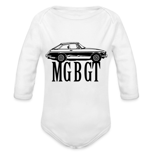 MG MGB GT - Autonaut.com - Organic Longsleeve Baby Bodysuit