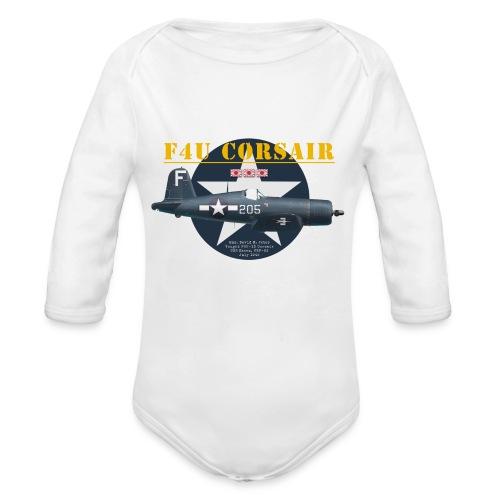 F4U Jeter VBF-83 - Organic Longsleeve Baby Bodysuit