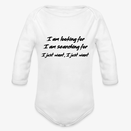 Change (NF) 1.1 - Organic Longsleeve Baby Bodysuit