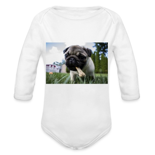 puppy dog - Baby Bio-Langarm-Body