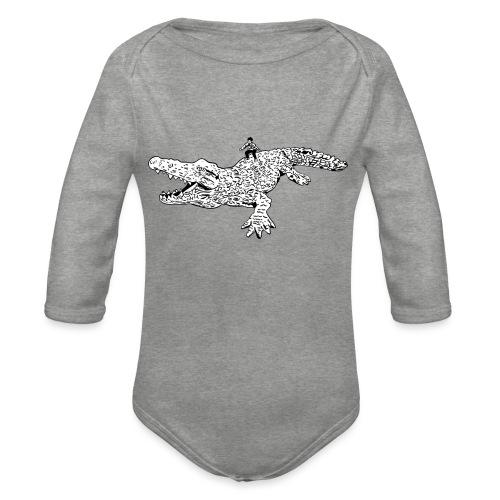 JUANCHO RIDES AGAIN MASTER - Organic Longsleeve Baby Bodysuit