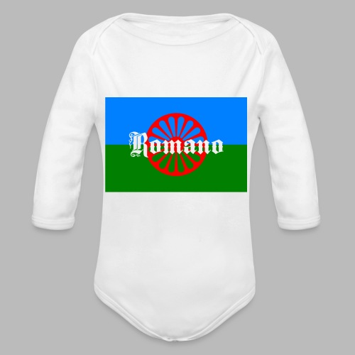 Flag of the Romanilenny people svg - Ekologisk långärmad babybody