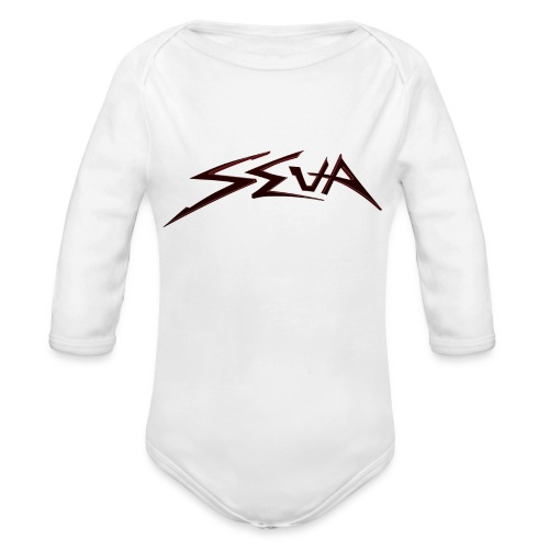 SEUA logo Speedy Elegant - Ekologisk långärmad babybody