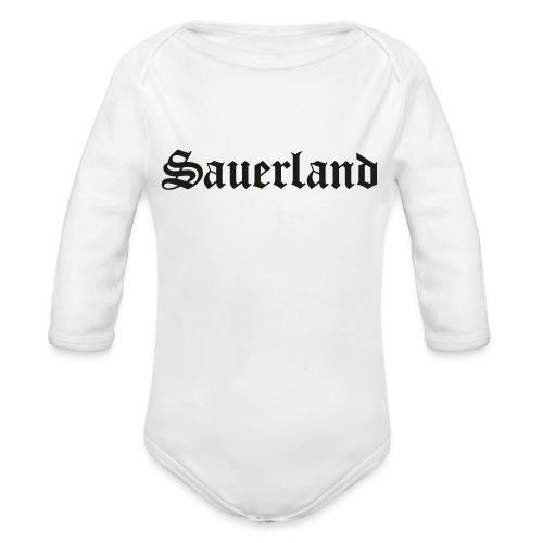 Sauerland - Baby Bio-Langarm-Body