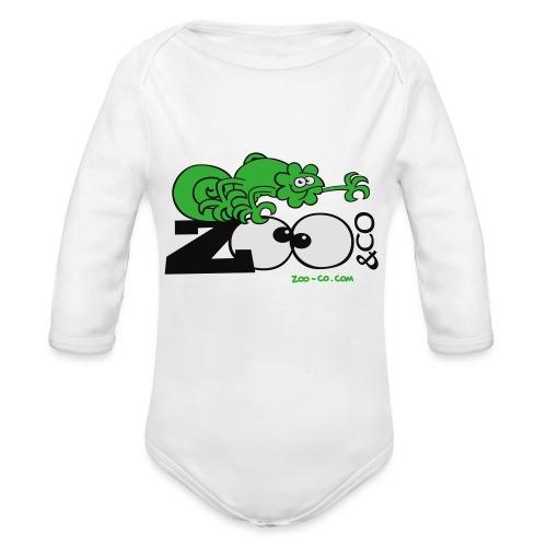 Zooco Chameleon - Organic Longsleeve Baby Bodysuit