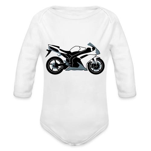 R1 07-on V2 - Organic Longsleeve Baby Bodysuit