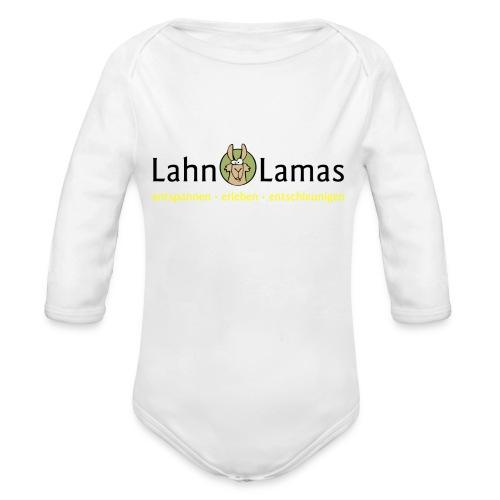 Lahn Lamas - Baby Bio-Langarm-Body