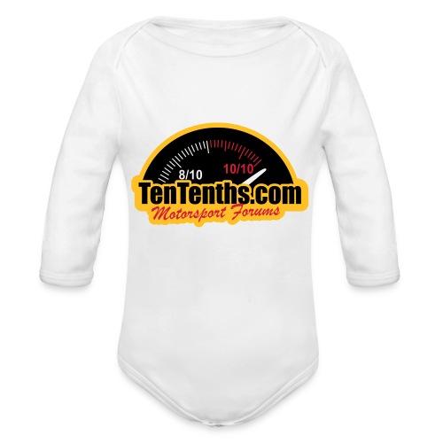 3Colour_Logo - Organic Longsleeve Baby Bodysuit