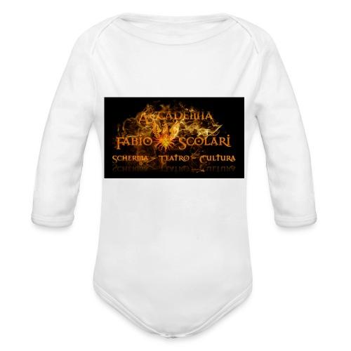 Accademia_Fabio_scolari_nero-png - Body ecologico per neonato a manica lunga