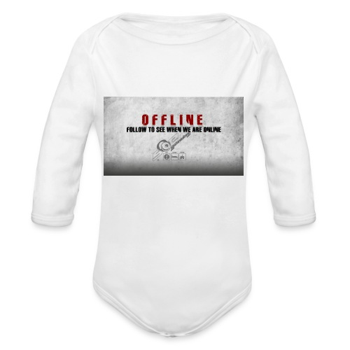 Offline V1 - Organic Longsleeve Baby Bodysuit