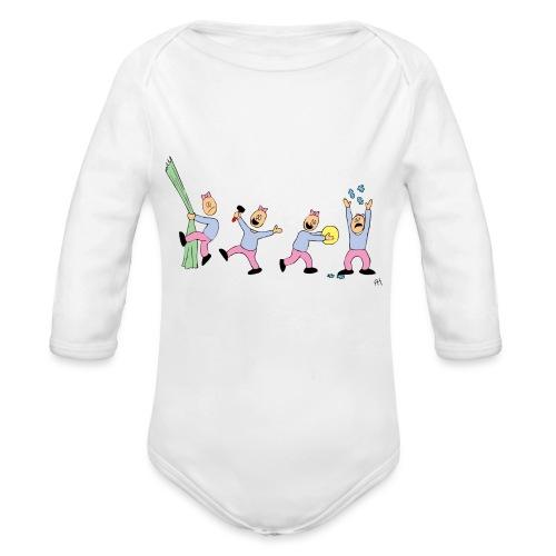 toern babybody - Økologisk langermet baby-body