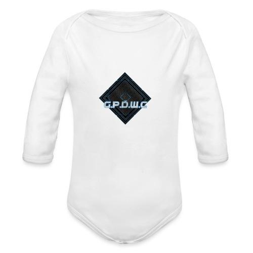 GPDWC - Langærmet babybody, økologisk bomuld
