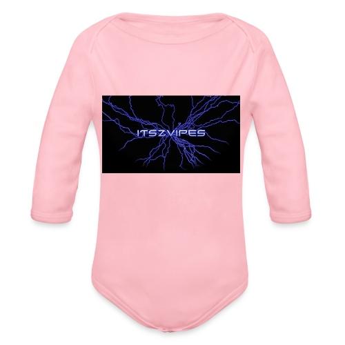 Beste T-skjorte ever! - Økologisk langermet baby-body