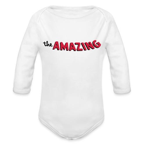 Amazing - Baby bio-rompertje met lange mouwen