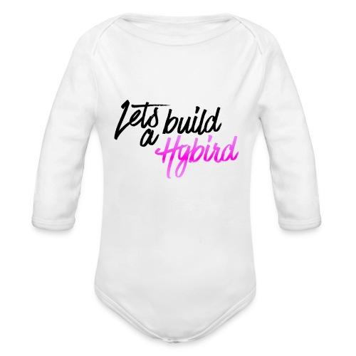 Lets Build A hybrid - Organic Longsleeve Baby Bodysuit