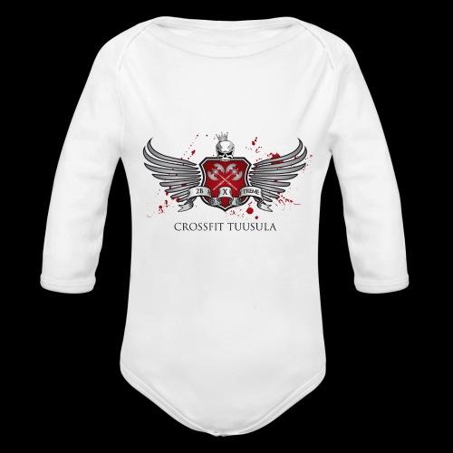 CrossFit Tuusula - Vauvan pitkähihainen luomu-body