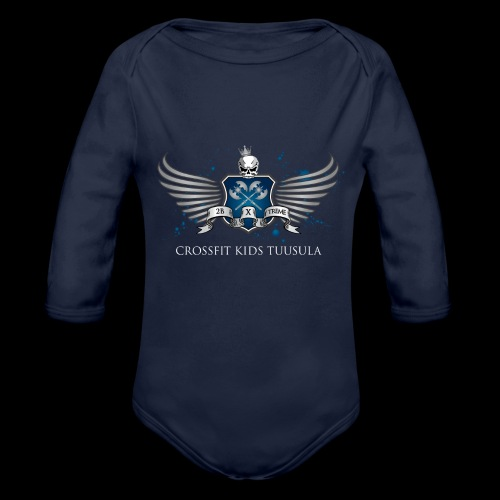 CrossFit kids Tuusula - Vauvan pitkähihainen luomu-body
