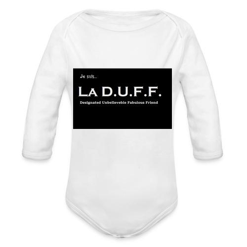 Je Suis La D.U.F.F. Shirt female - Baby bio-rompertje met lange mouwen