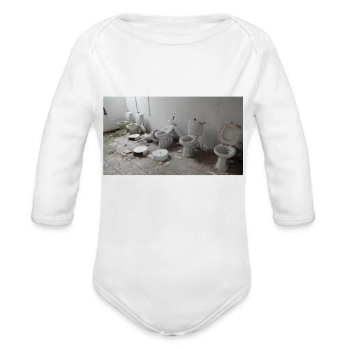 Toilets - Langærmet babybody, økologisk bomuld