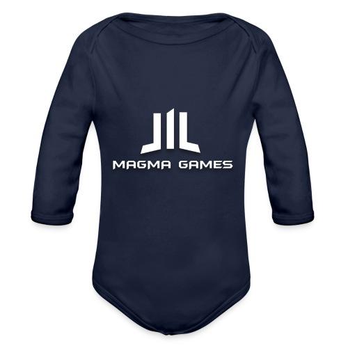 Magma Games t-shirt - Baby bio-rompertje met lange mouwen