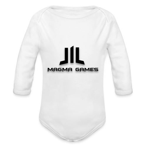 Magma Games kussen - Baby bio-rompertje met lange mouwen