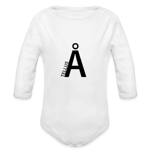 Tell Us a story - Organic Longsleeve Baby Bodysuit