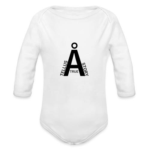 Tell us a True Story - Organic Longsleeve Baby Bodysuit