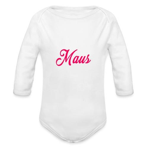 KIDS MAUS SWEATER by MAUS - Baby bio-rompertje met lange mouwen