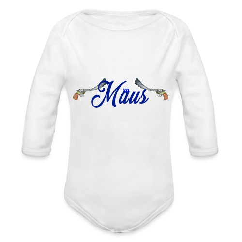 Waterpistol Sweater by MAUS - Baby bio-rompertje met lange mouwen