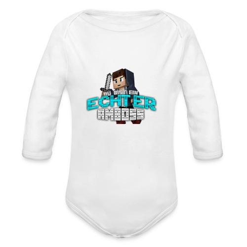Echter Amboss! - Organic Longsleeve Baby Bodysuit