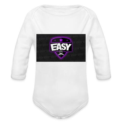 HTC One X Team EasyFive kuoret - Vauvan pitkähihainen luomu-body