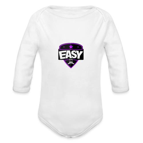 Team EasyFive Galaxy s4 kuoret - Vauvan pitkähihainen luomu-body