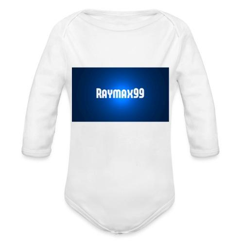 Raymax99 Herr Tröja - Ekologisk långärmad babybody