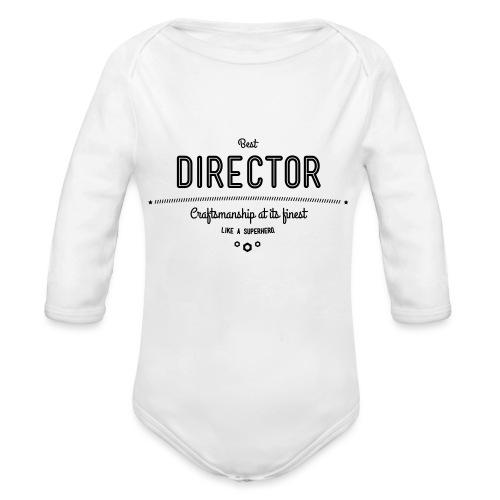 Bester Direktor - Handwerkskunst vom Feinsten, wie - Baby Bio-Langarm-Body