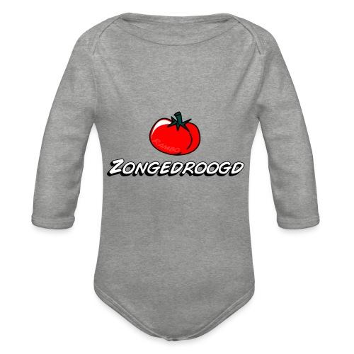 ZONGEDROOGD - Baby bio-rompertje met lange mouwen