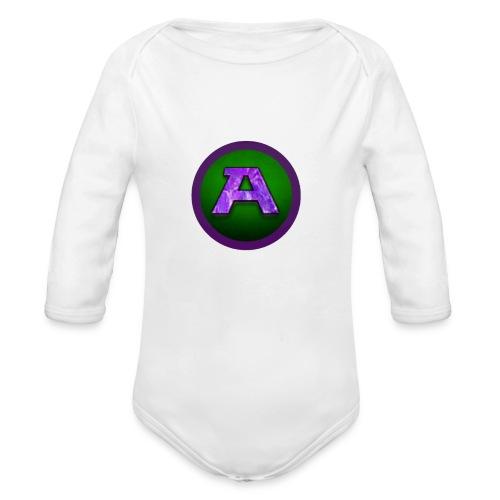 Alesa Logo - Organic Longsleeve Baby Bodysuit
