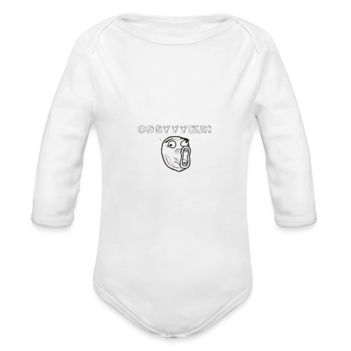 COSYYYEUH - Organic Longsleeve Baby Bodysuit