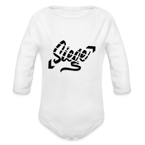 Siege - Logo - Baby bio-rompertje met lange mouwen