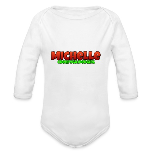 MichelleCGG Hülle - Baby Bio-Langarm-Body